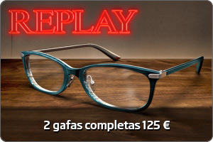 Replay 2 gafas completas 125 €